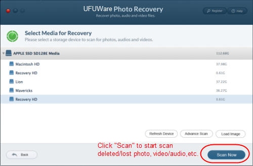 Photo Recovery for Panasonic HC-WXF991