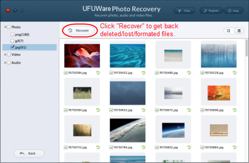 Recover lost/deleted photos/videos/music from HTC One (M8)