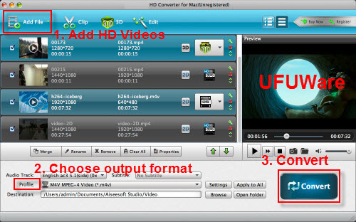 H.265 HEVC Video Converter (for Mac)