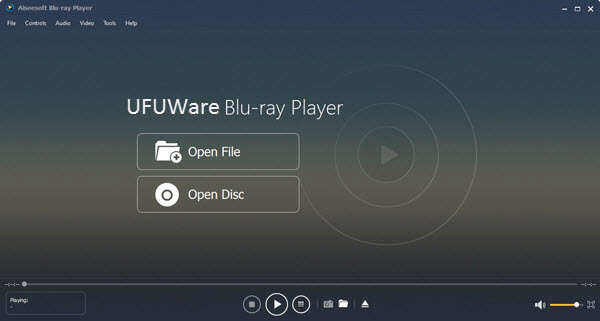 UFUWare Blu-ray Player for PC Blu-ray Play back