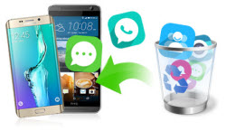Recover deleted contacts/messages/photos/videos files from Android Phone